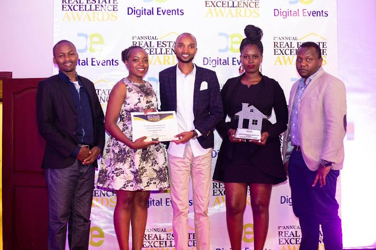 The Best Diaspora Market Land Selling Company Award At The 2019 Real Estate Excellence Awards