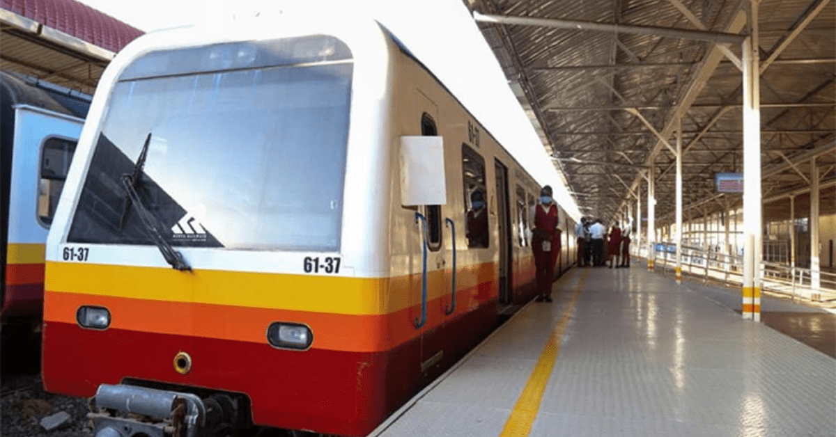 Konza City is now connected to Commuter train